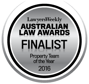 Finalist Property Law Team