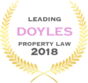 Doyles Property Law award
