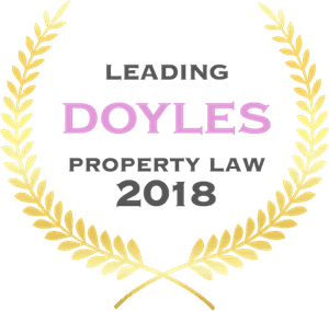 Doyles Property Law award